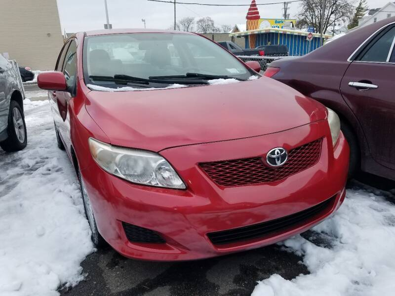 2009 Toyota Corolla for sale at The Bengal Auto Sales LLC in Hamtramck MI