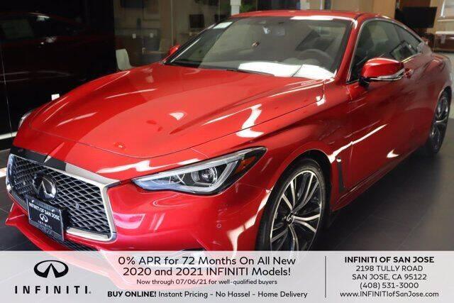 2021 Infiniti Q60 for sale in San Jose, CA