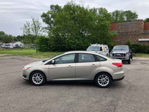 2016 Ford Focus for sale at DILLON LAKE MOTORS LLC in Zanesville OH