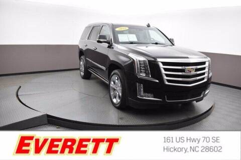 2018 Cadillac Escalade for sale at Everett Chevrolet Buick GMC in Hickory NC