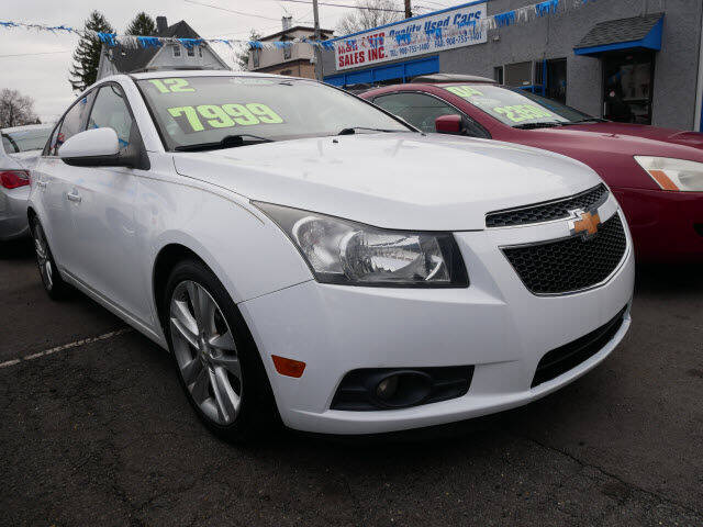 2012 Chevrolet Cruze for sale at M & R Auto Sales INC. in North Plainfield NJ