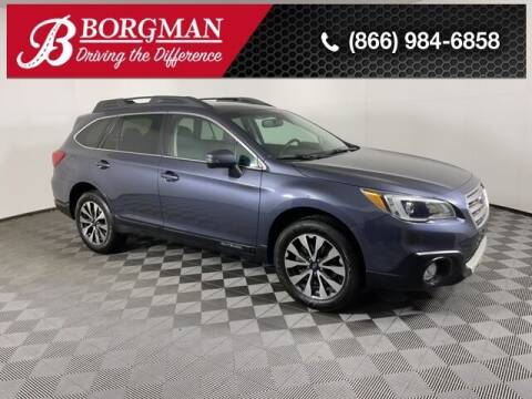 2017 Subaru Outback for sale at BORGMAN OF HOLLAND LLC in Holland MI