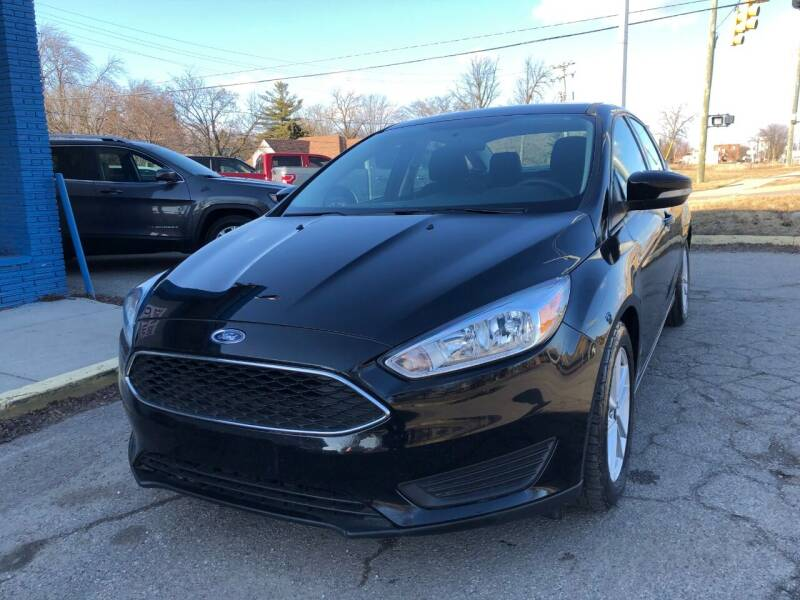 2017 Ford Focus for sale at One Price Auto in Mount Clemens MI