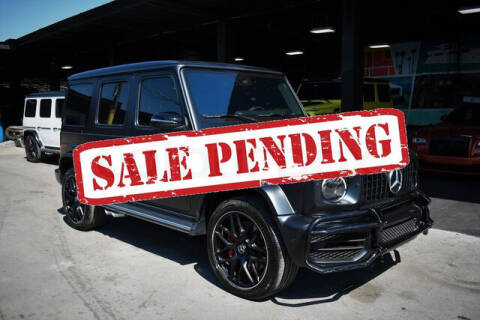 2020 Mercedes-Benz G-Class for sale at ELITE MOTOR CARS OF MIAMI in Miami FL
