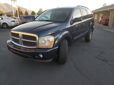 2005 Dodge Durango for sale at Firehouse Auto Sales in Springville UT