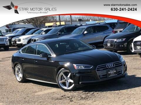 2018 Audi A5 Sportback for sale at Star Motor Sales in Downers Grove IL