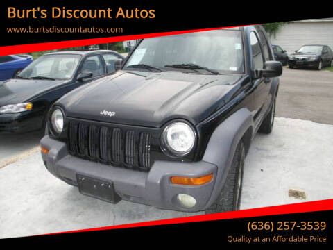 2003 Jeep Liberty for sale at Burt's Discount Autos in Pacific MO