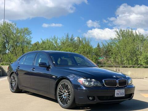 2008 BMW 7 Series for sale at AutoAffari LLC in Sacramento CA