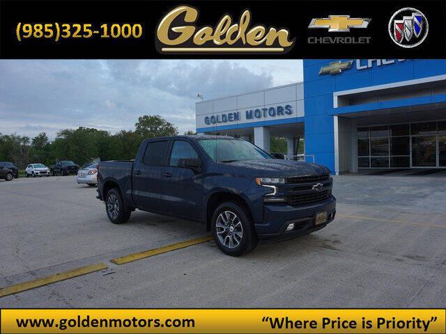 2021 Chevrolet Silverado 1500 for sale at GOLDEN MOTORS in Cut Off LA