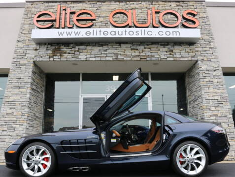 2006 Mercedes-Benz SLR for sale at Elite Autos LLC in Jonesboro AR