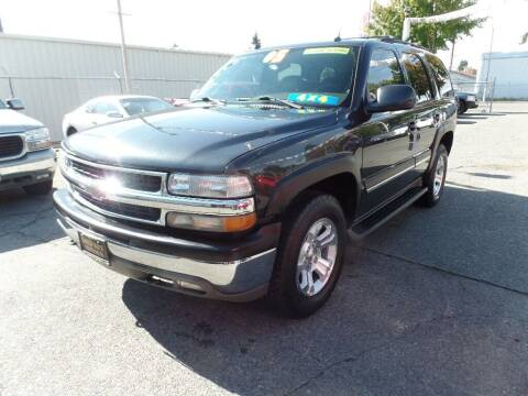 2005 Chevrolet Tahoe for sale at Gold Key Motors in Centralia WA