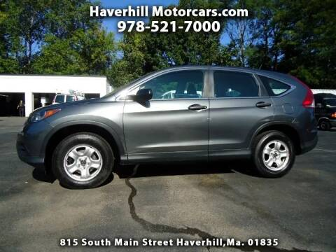 2013 Honda CR-V for sale at 125 Auto Finance in Haverhill MA