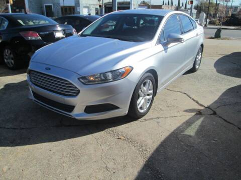 2015 Ford Fusion for sale at Downtown Motors in Macon GA