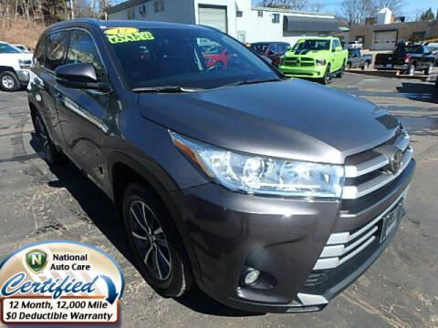 2017 Toyota Highlander for sale at Jon's Auto in Marquette MI