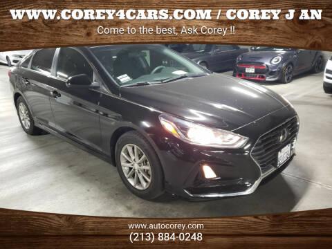 2018 Hyundai Sonata for sale at WWW.COREY4CARS.COM / COREY J AN in Los Angeles CA