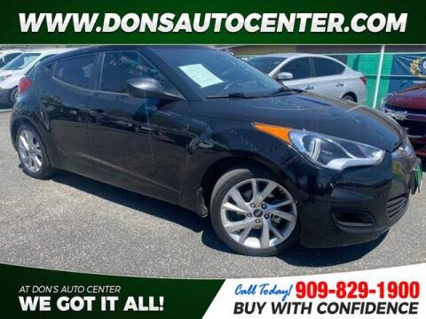 2016 Hyundai Veloster for sale at Dons Auto Center in Fontana CA