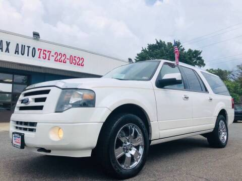 2010 Ford Expedition EL for sale at Trimax Auto Group in Norfolk VA