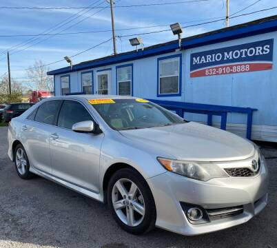 2014 Toyota Camry for sale at Mario Motors in South Houston TX