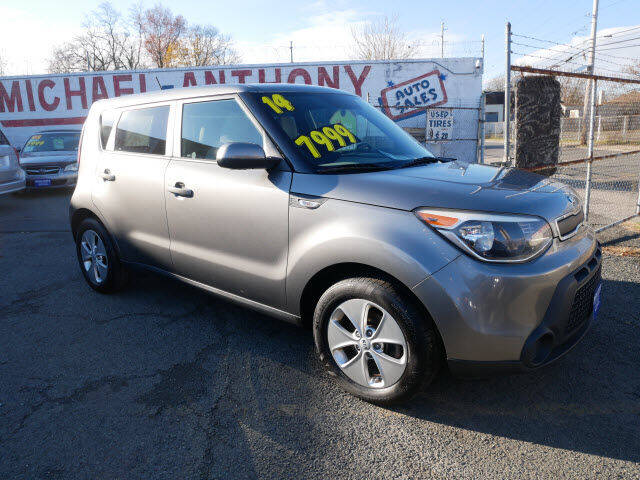 2014 Kia Soul for sale at MICHAEL ANTHONY AUTO SALES in Plainfield NJ