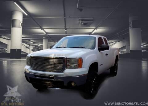 2012 GMC Sierra 1500 for sale at S.S. Motors LLC in Dallas GA