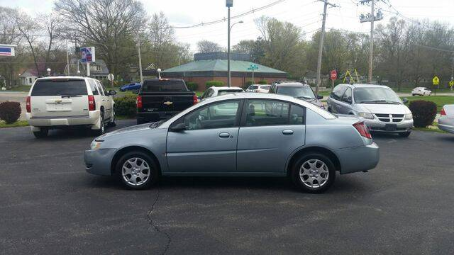 2003 Saturn Ion for sale at VINE STREET MOTOR CO in Urbana IL