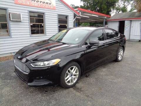 2016 Ford Fusion for sale at Z Motors in North Lauderdale FL