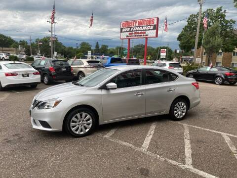 2018 Nissan Sentra for sale at Christy Motors in Crystal MN