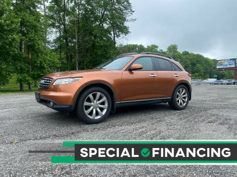 2003 Infiniti FX45 for sale at QUALITY AUTOS in Newfoundland NJ