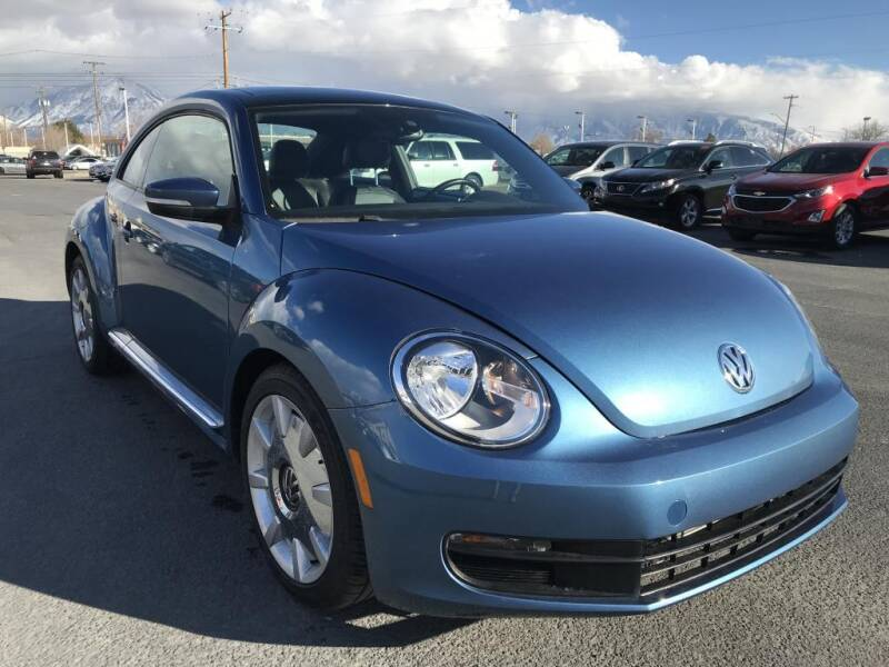 2016 Volkswagen Beetle for sale at INVICTUS MOTOR COMPANY in West Valley City UT