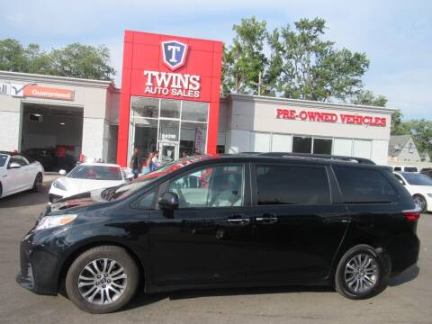 2018 Toyota Sienna for sale at Twins Auto Sales Inc in Detroit MI