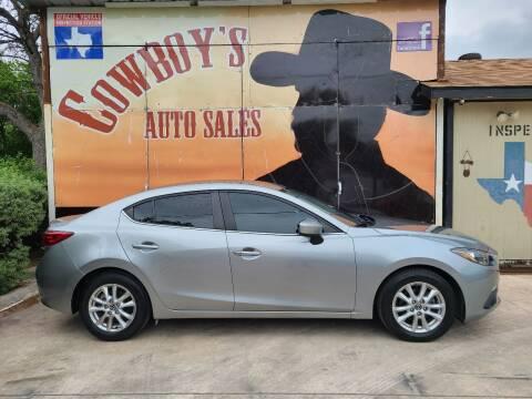 2015 Mazda MAZDA3 for sale at Cowboy's Auto Sales in San Antonio TX