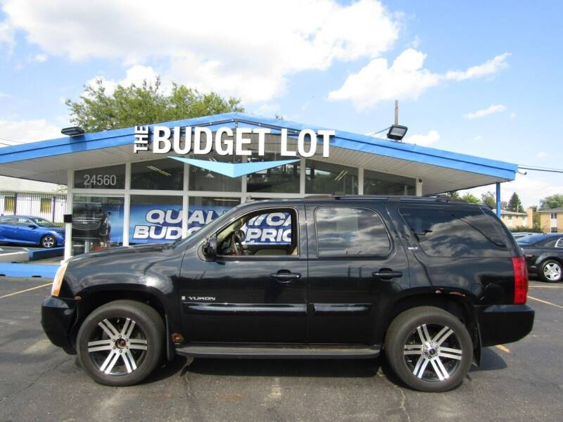 2007 GMC Yukon for sale at THE BUDGET LOT in Detroit MI