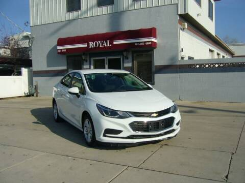 2018 Chevrolet Cruze for sale at Royal Auto Inc in Murray UT