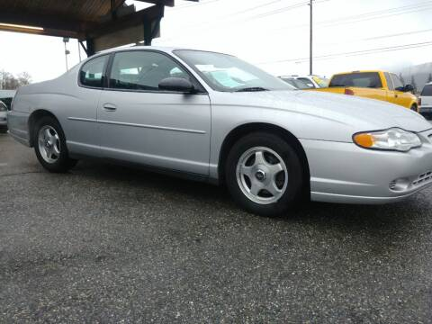 2004 Chevrolet Monte Carlo for sale at Low Auto Sales in Sedro Woolley WA
