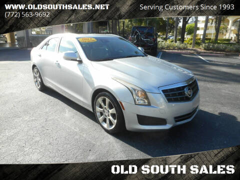 2013 Cadillac ATS for sale at OLD SOUTH SALES in Vero Beach FL