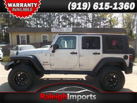 2010 Jeep Wrangler Unlimited for sale at Raleigh Imports in Raleigh NC