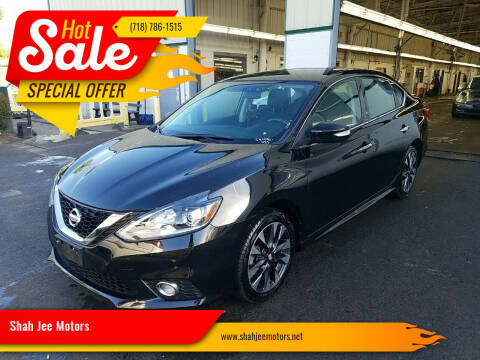 2017 Nissan Sentra for sale at Shah Jee Motors in Woodside NY