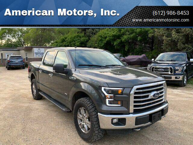 2016 Ford F-150 for sale at American Motors, Inc. in Farmington MN