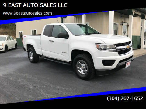 2015 Chevrolet Colorado for sale at 9 EAST AUTO SALES LLC in Martinsburg WV