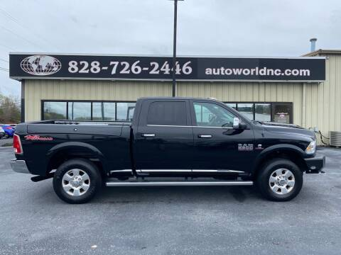 2016 RAM Ram Pickup 2500 for sale at AutoWorld of Lenoir in Lenoir NC