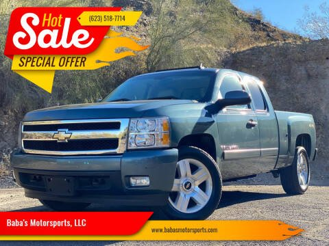 2008 Chevrolet Silverado 1500 for sale at Baba's Motorsports, LLC in Phoenix AZ