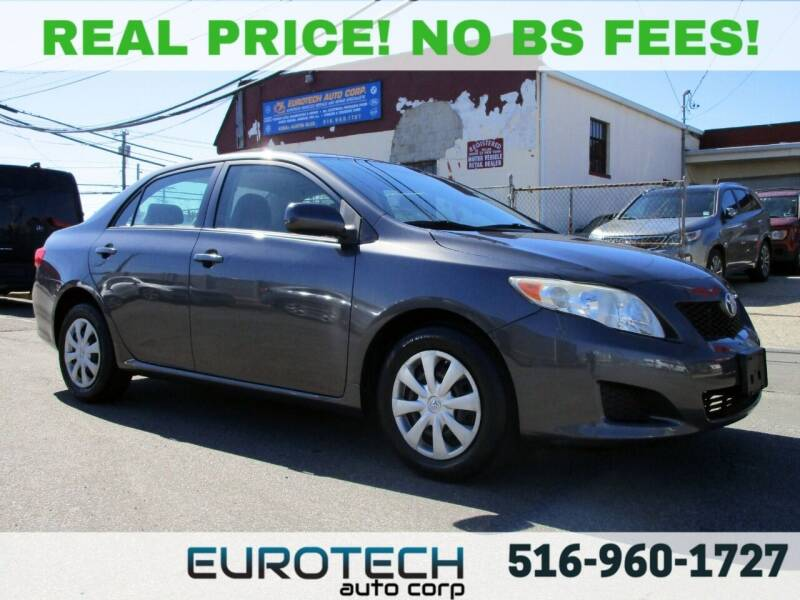 2009 Toyota Corolla for sale at EUROTECH AUTO CORP in Island Park NY