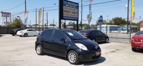 2011 Toyota Yaris for sale at S.A. BROADWAY MOTORS INC in San Antonio TX