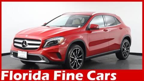 2017 Mercedes-Benz GLA for sale at Florida Fine Cars - West Palm Beach in West Palm Beach FL