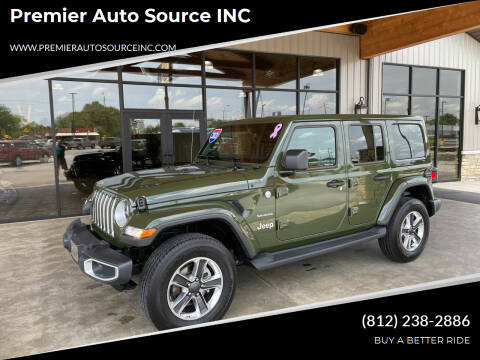 2021 Jeep Wrangler Unlimited for sale at Premier Auto Source INC in Terre Haute IN