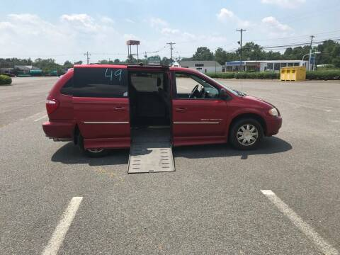 2006 Chrysler Town and Country for sale at BT Mobility LLC in Wrightstown NJ