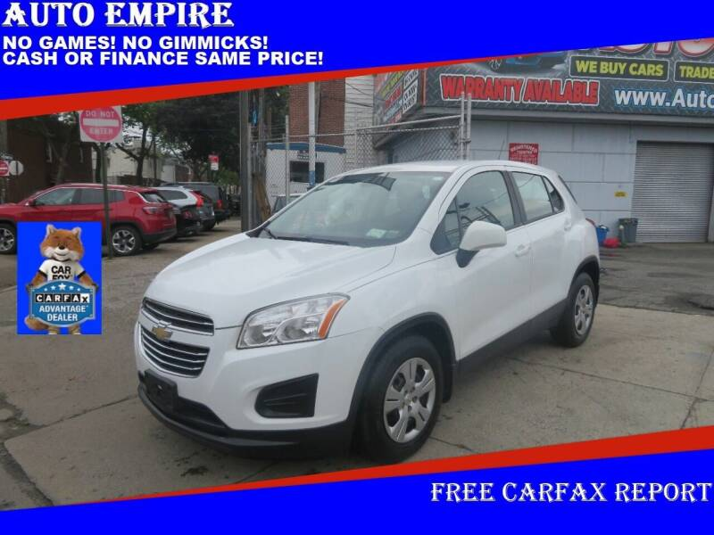 2016 Chevrolet Trax for sale at Auto Empire in Brooklyn NY