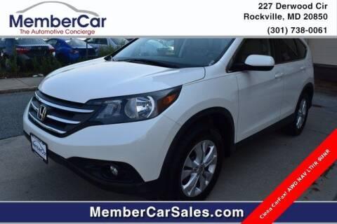 2014 Honda CR-V for sale at MemberCar in Rockville MD