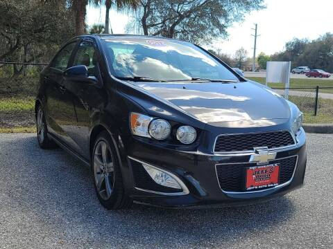2014 Chevrolet Sonic for sale at Jeff's Auto Sales & Service in Port Charlotte FL