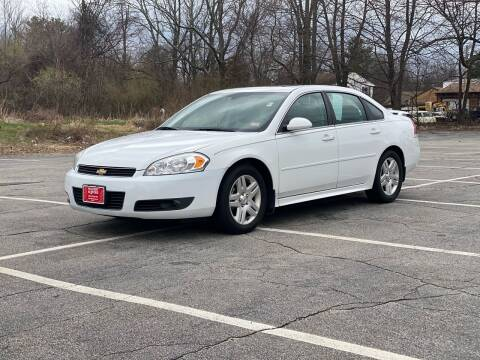 2011 Chevrolet Impala for sale at Hillcrest Motors in Derry NH